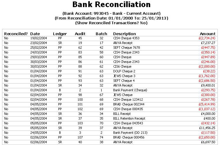 Bank Reconciliation Template Uk Image collections - Template Design - bank account reconciliation template