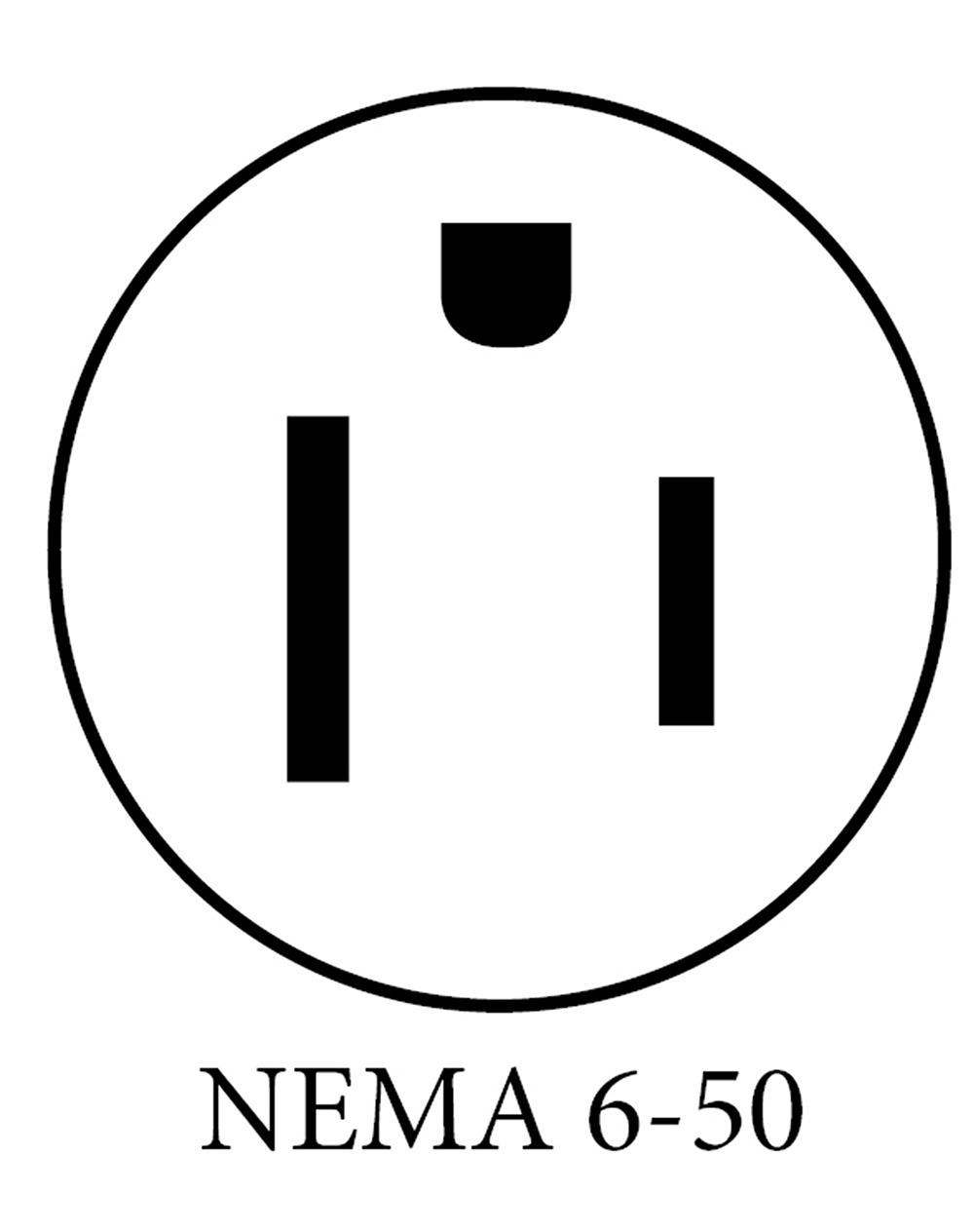 nema 15 50 plug bedradings schema