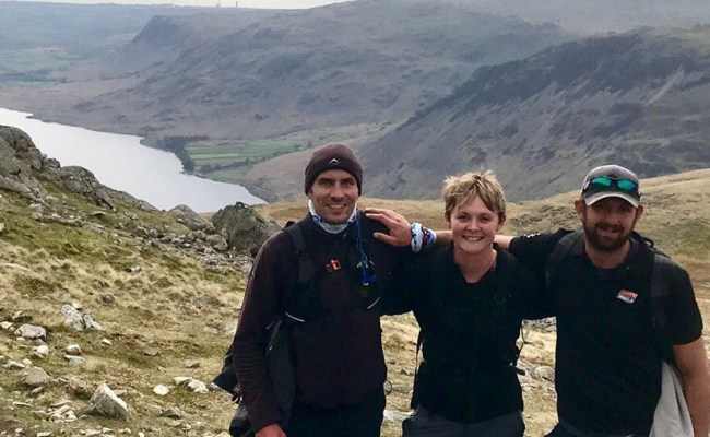 'ain't No Mountain High Enough' For Race Skippers Unicef Fundraising