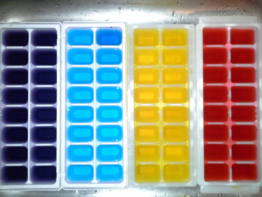 Use the polar vortex to your advantage and make kool cubes!
