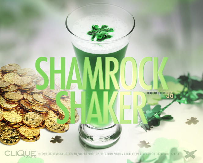 St. Patrick's Day: Shamrock Shaker Shooter