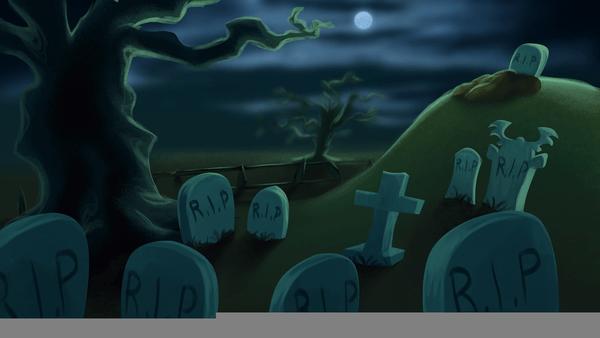 Animated Stars Wallpaper Graveyard Cartoon Wallpaper Free Images At Clker Com