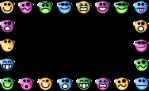 Smiley Face Clip Art Border