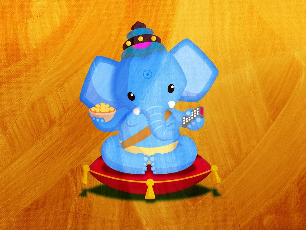 Ganesh Chaturthi Wallpapers 3d Cute Ganesha X Free Images At Clker Com Vector Clip