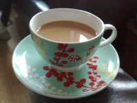 Beautiful Cup Of Tea   Free Images at Clker.com - vector ...