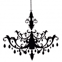 Resize Chandelier Decal | Free Images at Clker.com ...