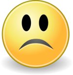 Frowny Face Clip Art