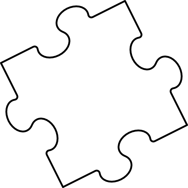 3 Piece Puzzle Template – Blank Puzzle Template