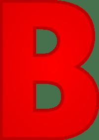 Letter B Clip Art at Clker.com - vector clip art online ...