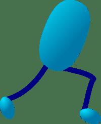 Stick Legs Clip Art at Clker.com - vector clip art online ...