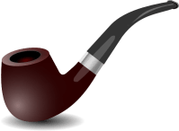 Tobacco Pipe Clip Art at Clker.com - vector clip art ...