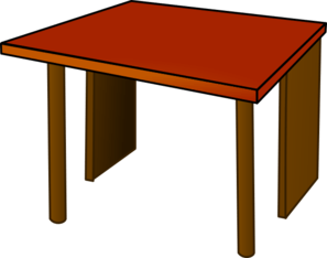 Table Top Wood Clip Art At Clkercom Vector Clip Art