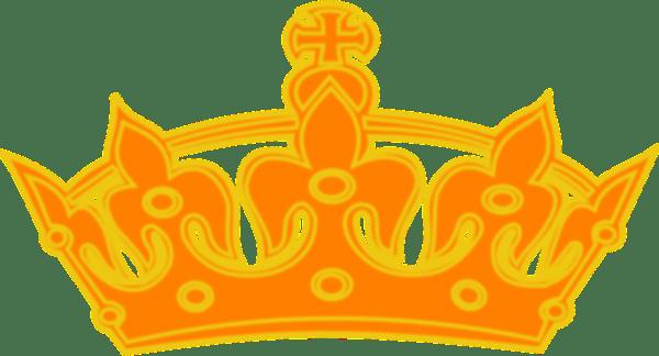 Princess Wallpaper Cute Pattern Orange Yellow Crown Clip Art At Clker Com Vector Clip