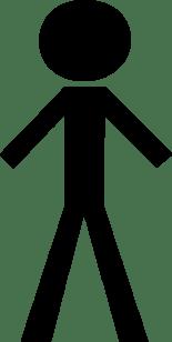 Black Stick Figure Clip Art