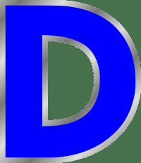 Letter D Clip Art at Clker.com - vector clip art online ...
