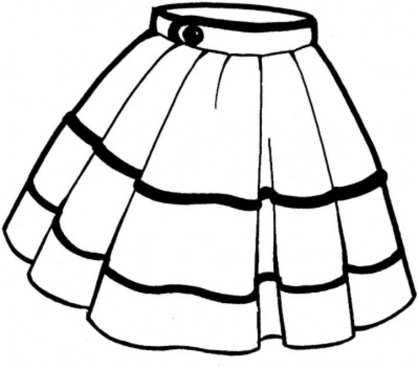 skirts clipart