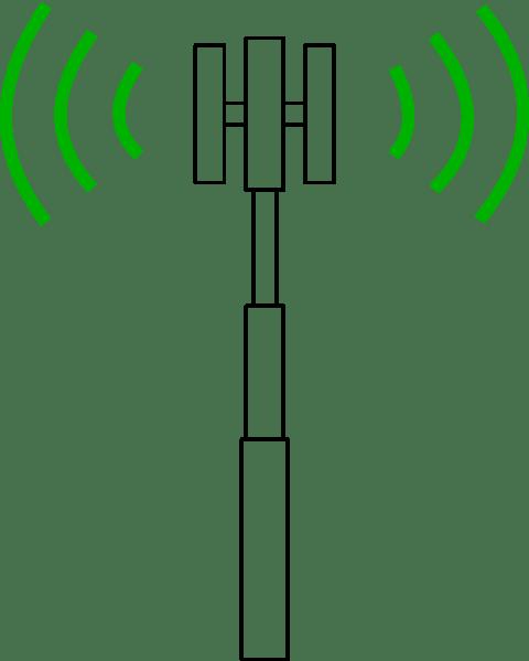 antenna schematic symbol