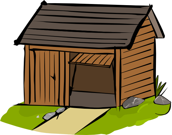 Shed clip art at clker com vector clip art online