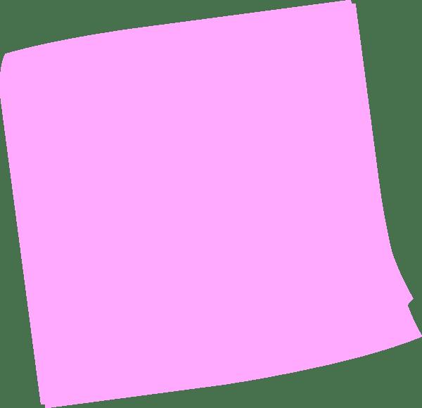 Cute Notepad Wallpaper Pink Post It Clip Art At Clker Com Vector Clip Art