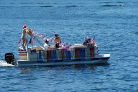 CLLAA  2015 4th of July Boat Parade