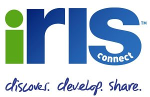 Iris Connect Logo - Discover, Develop, Share