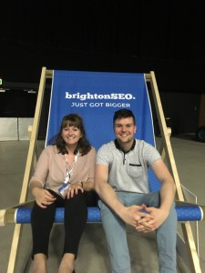 clockworkTalent's digital team at brightonSEO