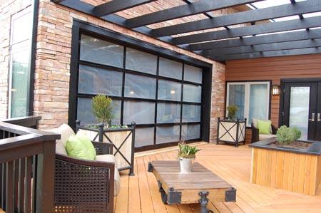 Clopay Door Blog Glass Garage Doors Open Up Interior Spaces