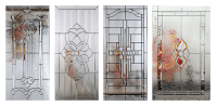 Clopay Adds New Decorative Glass Options to Entry Door Line