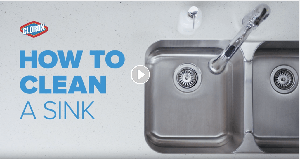 How To Clean The Sink Cloroxr