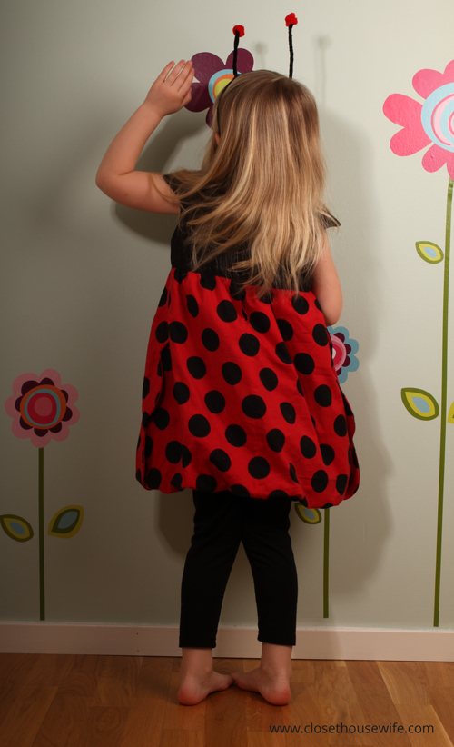 Climbing in flowers like ladybugs do