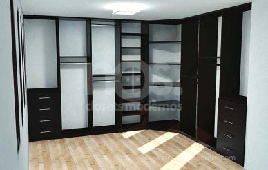 Dise o de vestidores modernos nos cl sets modernos Diseno de interiores closets modernos