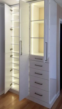 Wall Closets with Custom Closet Lighting Solutions for L ...
