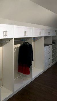 Hanging Closet Rod from Sloped Ceiling to Convert Bedroom ...