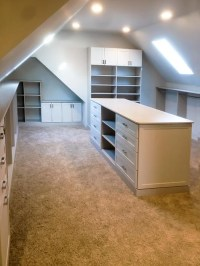 Bonus Room Closet Ideas for Angled Ceilings
