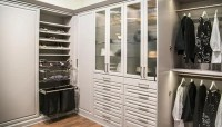 Painted MDF Wardrobe System Using Custom Wall Closet Units