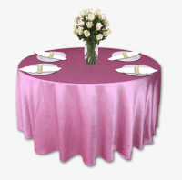 Dusty Rose Table Linen Rental Tablecloth