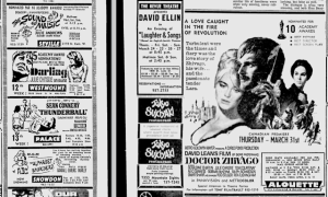 MOVIES MTL GAZETTE 19 03 1966