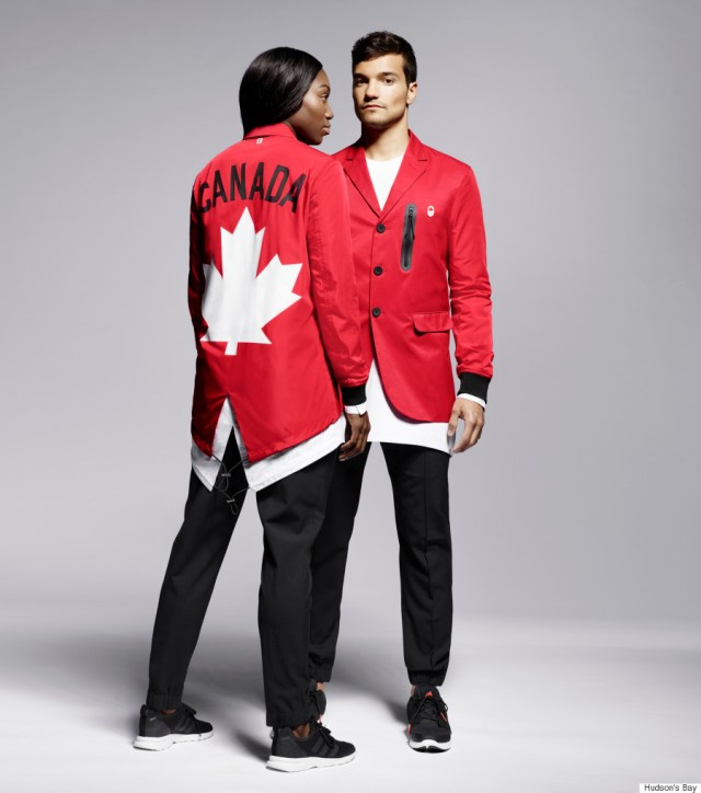 CANADIAN OLYMPIC UNIFORMS RIO 2016 3