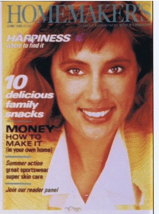 HOMEMAKERS MAGAZINE MARIA HOYT JUNE 1985