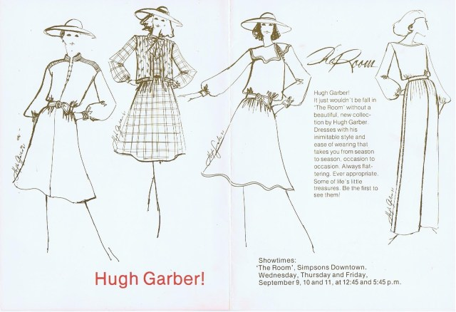 HUGH GARBER SIMPSONS THE ROOM 1981 2/2 HGA