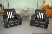 Art Deco Armchairs || Cloud 9, Art Deco Furniture Sales