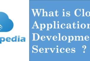 Definition cloud-application-development-services