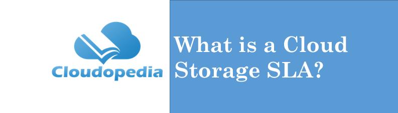 Definition cloud-storage-sla