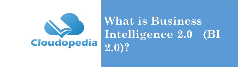 Definition Business Intelligence