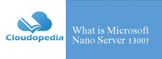Definition of Microsoft Nano Server 1300