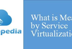 Definition of Service Virtualization
