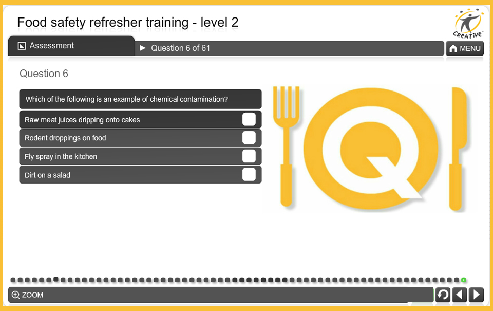 Food Safety Refresher Course - Creative Learning Solutions