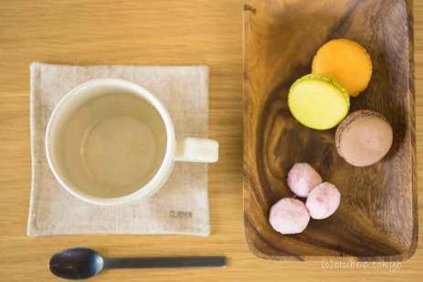 お茶 お菓子 ヨークやーテリア マカロン