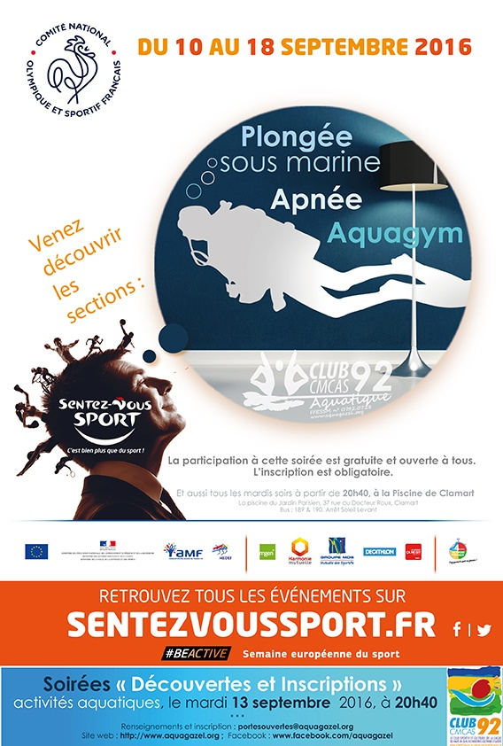 Soir e portes ouvertes 13 septembre 2016 la piscine de for Piscine clamart