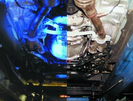 Under car UV_normal light